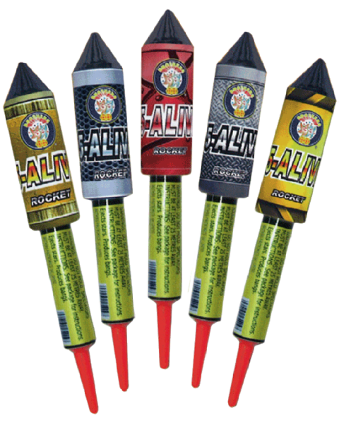 5 Alive Rockets Pack of 5